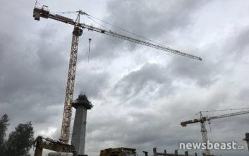 Νεκρός εργάτης που έπεσε από σκαλωσιά στο νέο γήπεδο της ΑΕΚ