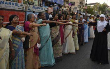 Απειλές για τη ζωή τους δέχονται δύο γυναίκες που μπήκαν σε ναό στην Ινδία