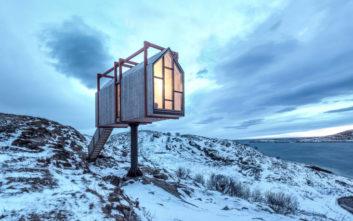 Ένα καταφύγιο στη Νορβηγία για τους λάτρεις της μοναξιάς
