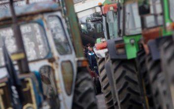Συλλαλητήριο αγροτών στην κεντρική πλατεία του Παλαμά Καρδίτσας