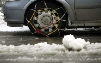 Με προβλήματα η κυκλοφορία των οχημάτων στην Πελοπόννησο