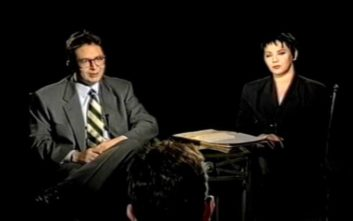Ο Θέμος συναντά τηλεοπτικά τη Μαλβίνα το 1992