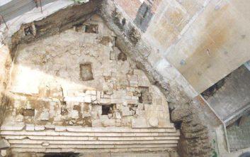 Τα έργα ολοκληρωμένης ανάδειξης του ναού της Αφροδίτης στη Θεσσαλονίκη