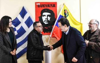 Το ευχαριστώ του επικεφαλής της πρεσβείας της Βενεζουέλας σε ΛΑΕ και ελληνικό λαό