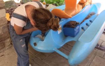 Πολυτεχνίτισσα μικρή φτιάχνει ηλεκτρικό σκάφος από το μηδέν