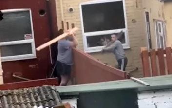 Όταν οι γείτονες δεν τα πάνε καλά, μπορεί να συμβεί αυτό