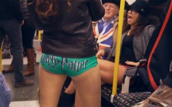 Όσα έγιναν στη Βόλτα Χωρίς Παντελόνι στο μετρό του Λονδίνου