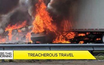 Πέντε παιδιά καήκαν σε φριχτό τροχαίο στη Φλόριντα