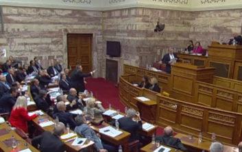 Χαμός στην επιτροπή της Βουλής για τη Συμφωνία των Πρεσπών