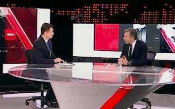 Θεοδωράκης: Στηρίζουμε μία λύση στα βόρεια σύνορά μας γιατί θεωρούμε ότι ο κίνδυνος είναι στα ανατολικά