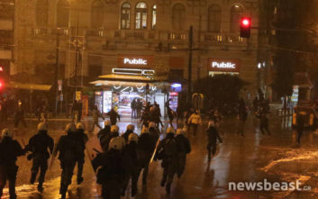 Δεκάδες συλλήψεις και προσαγωγές στο συλλαλητήριο για τη Μακεδονία