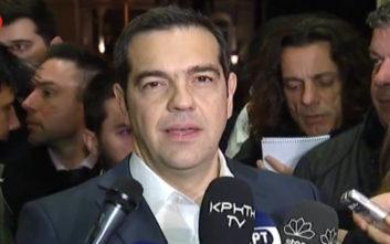 Τσίπρας: Ψήφος εμπιστοσύνης σε μία κυβέρνηση που έχει αλλάξει την Ελλάδα