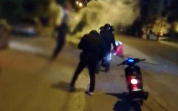 Βίντεο από την επίθεση του Ρουβίκωνα στην αμερικανική πρεσβεία