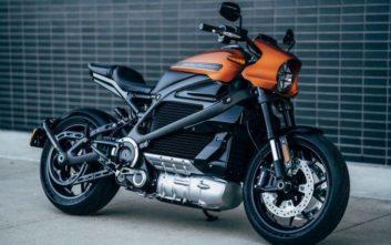 Γρήγορη και με «νέο φουτουριστικό ήχο» η πρώτη ηλεκτρική Harley-Davidson
