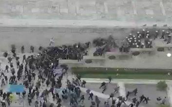 Το βίντεο της ΕΛ.ΑΣ. και οι πληροφορίες για σχέδιο εισβολής στη Βουλή