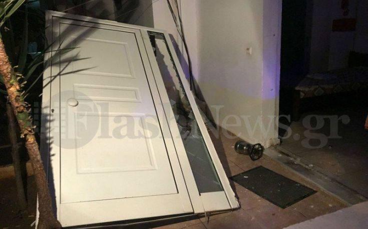 Έκρηξη σε σπίτι στα Χανιά, στο νοσοκομείο μία γυναίκα