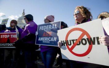 Δεν φοβάται shutdown του ομοσπονδιακού κράτους στα τέλη του μήνα ο Λευκός Οίκος