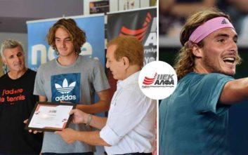 Ο «Έλληνας θεός» του τένις, σπουδάζει στο ΙΕΚ ΑΛΦΑ και πιστεύει στην ευεργετική δύναμη της παιδείας