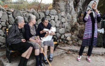 «Έφυγε» η μία από τις τρεις γιαγιάδες-σύμβολα της Λέσβου