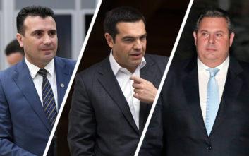 Στον αέρα η Συμφωνία των Πρεσπών, πολιτικό θρίλερ σε Σκόπια και Αθήνα