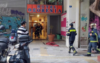 Συναγερμός στην Πυροσβεστική για φωτιά σε ξενοδοχείο της Αθήνας