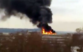 Μεγάλη φωτιά στο Πανεπιστήμιο της Λυών στη Γαλλία