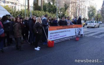 Διαμαρτυρία της ΠΟΕΔΗΝ στη Βουλή για το «Δρομοκαΐτειο»
