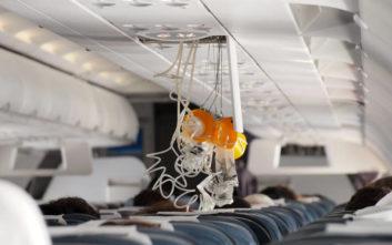 Όλη η αλήθεια για τις μάσκες οξυγόνου στα αεροπλάνα
