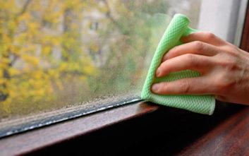 Τρεις τρόποι να περιορίσετε την υγρασία στο σπίτι