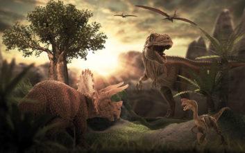 Οι δεινόσαυροι ζούσαν πιθανότατα όταν έσκαγαν τα ηφαίστεια της Σελήνης