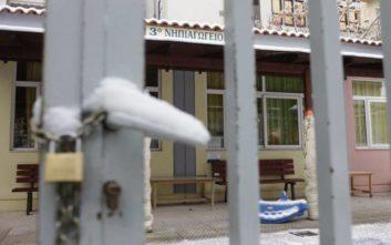 Ο παγετός κρατά κλειστά και αύριο σχολεία στη Βόρεια Ελλάδα