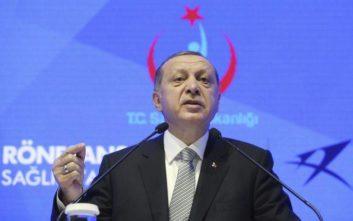Ερντογάν: Οι δυνάμεις μας έχουν πάρει θέση στην Ανατολική Μεσόγειο