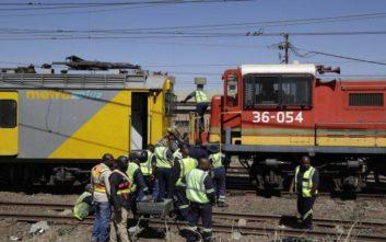 Σύγκρουση τρένων με δύο νεκρούς στη Νότια Αφρική