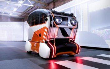 Αυτόνομα οχήματα ειδοποιούν τους πεζούς για τις επόμενες κινήσεις τους