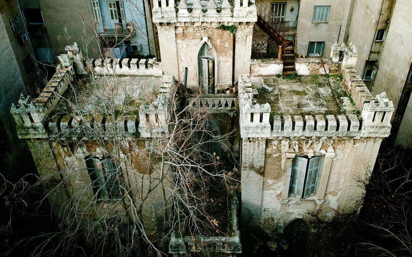 Ο θρυλικός πύργος στα Πατήσια βγαλμένος από παραμύθι