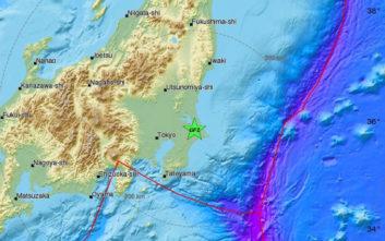 Σεισμός τώρα στην Ιαπωνία