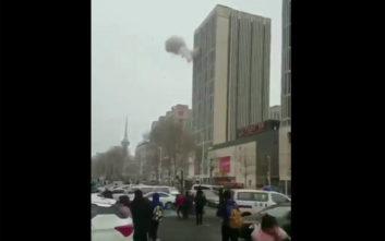 Έκρηξη σε εμπορικό κέντρο στην Κίνα
