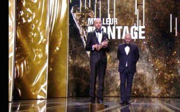 Ο Γιώργος Λαμπρινός κέρδισε το Σεζάρ Καλύτερου Μοντάζ