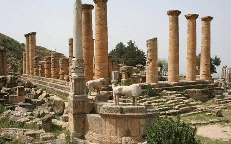 Αποκαρδιωτική η εικόνα του ελληνικού αμφιθεάτρου στην Κυρήνη