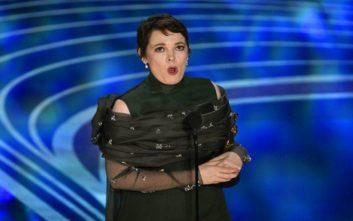 Όσκαρ Α' Γυναικείου Ρόλου στην Ολίβια Κόλμαν για την «Ευνοούμενη» του Λάνθιμου