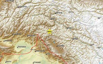 Ισχυρός σεισμός ταρακούνησε βόρεια ινδική πολιτεία