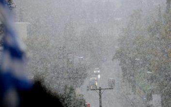 Έρχεται τριήμερο σφοδρής κακοκαιρίας με χιόνια και στην Αττική