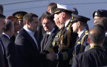 Έφτασε στην Τουρκία ο Τσίπρας, σήμερα το τετ α τετ με Ερντογάν