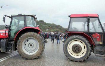 Κλειστός ο αυτοκινητόδρομος της Ιονίας Οδού στον κόμβο Μπάγιας από αγρότες