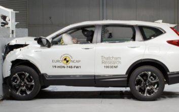 «Πεντάστερο» το Honda CR-V στις δοκιμές του Euro NCAP