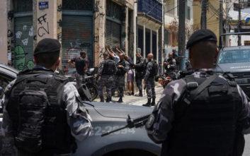 Πόλεμος μεταξύ συμμορίας και αστυνομικών στο Σάο Πάολο της Βραζιλίας