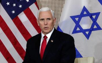 Πενς: Το Ιράν ετοιμάζει νέο ολοκαύτωμα στη Μέση Ανατολή