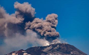 Το ηφαίστειο της Αίτνας «ξύπνησε»