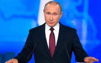 Το σχόλιο του Κρεμλίνου για τη χαμηλή τηλεθέαση ομιλίας του Πούτιν