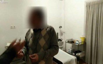 «Ντου» του Ρουβίκωνα σε γραφείο γιατρού που κατηγορούνταν ότι ζητούσε φακελάκι από καρκινοπαθή